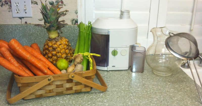 Organic Juicing for Minerals