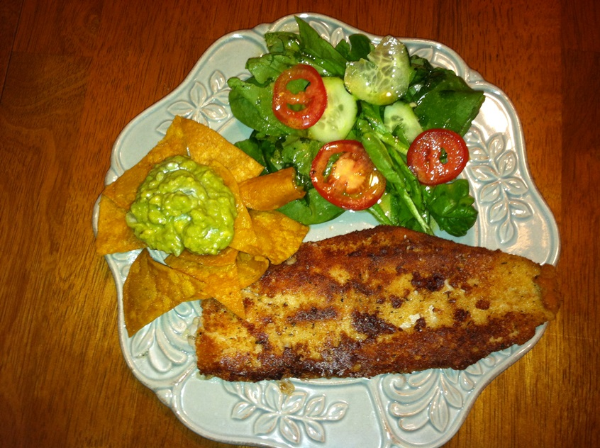 Gluten-Free Breaded Fish Filets